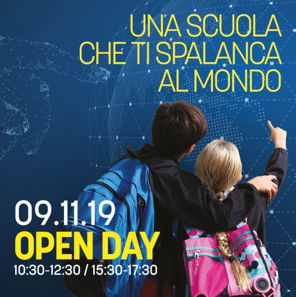 OPEN DAY | sabato 9 novembre 2019